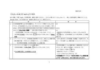 0.23μSv/hr = 1mSv/y の関係